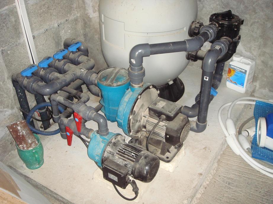 filtration au Chlore